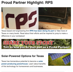 September 2020 Proud Partner newsletter preview